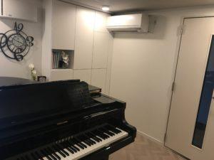大人のピアノ教室 あおばピアノの部屋 レッスン室