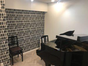 横浜市大人のピアノ教室 あおばピアノの部屋レッスン室