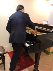 横浜市青葉区大人のピアノ教室 あおばピアノの部屋 調律師